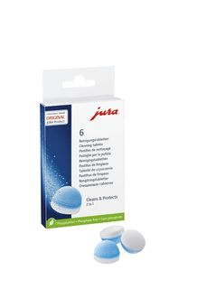 Jura 2 Phase Cleaning Tablets – 6 pack