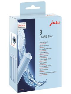 Jura Claris Water Filter – Blue 3 Pack